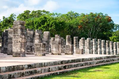 ?Viva Mexico! Collection - One Thousand Mayan Columns - Chichen Itza-Philippe Hugonnard-Photographic Print