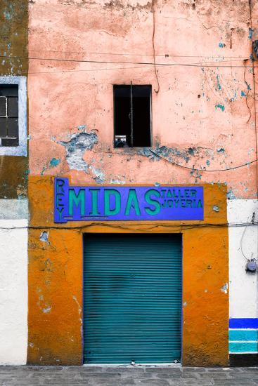 ¡Viva Mexico! Collection - Orange Taller-Philippe Hugonnard-Photographic Print