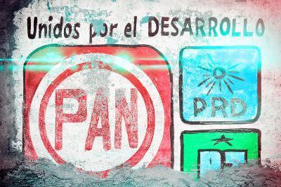"?Viva Mexico! Collection - ""PAN"" Street Art II-Philippe Hugonnard-Photographic Print"