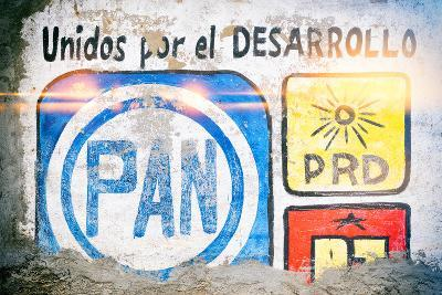"¡Viva Mexico! Collection - ""PAN"" Street Art-Philippe Hugonnard-Photographic Print"