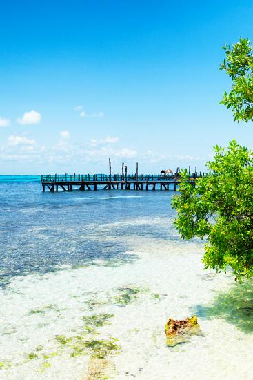 ?Viva Mexico! Collection - Peaceful Paradise III - Isla Mujeres-Philippe Hugonnard-Photographic Print