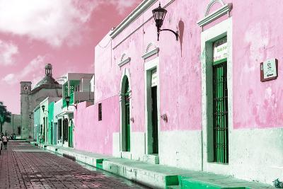 ¡Viva Mexico! Collection - Pink Campeche-Philippe Hugonnard-Photographic Print