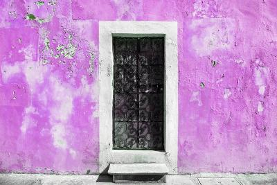 ?Viva Mexico! Collection - Pink Wall of Silence-Philippe Hugonnard-Photographic Print