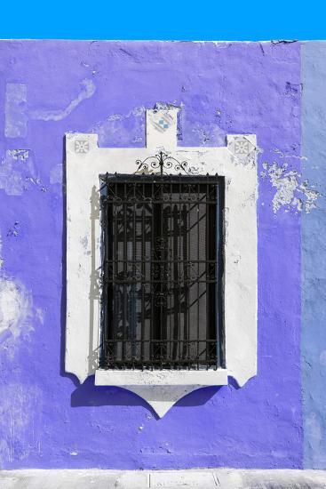 ?Viva Mexico! Collection - Plum Window - Campeche-Philippe Hugonnard-Photographic Print