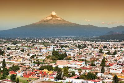 ?Viva Mexico! Collection - Popocatepetl Volcano in Puebla at Sunset-Philippe Hugonnard-Photographic Print
