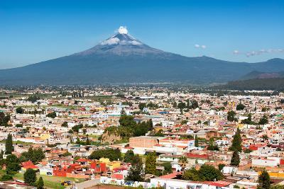 ?Viva Mexico! Collection - Popocatepetl Volcano in Puebla-Philippe Hugonnard-Photographic Print