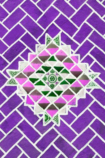 ?Viva Mexico! Collection - Purple Mosaics-Philippe Hugonnard-Photographic Print