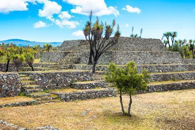 ?Viva Mexico! Collection - Pyramid of Cantona - Puebla-Philippe Hugonnard-Photographic Print