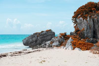 ¡Viva Mexico! Collection - Riviera Maya in Tulum with Fall Colors-Philippe Hugonnard-Photographic Print