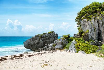 ¡Viva Mexico! Collection - Riviera Maya in Tulum-Philippe Hugonnard-Photographic Print