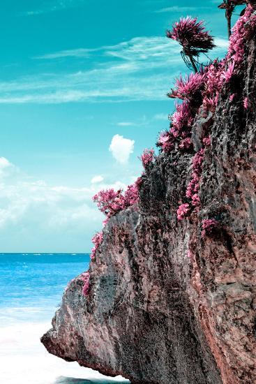 ?Viva Mexico! Collection - Rock in the Caribbean III-Philippe Hugonnard-Photographic Print