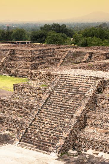 ¡Viva Mexico! Collection - Teotihuacan Pyramids-Philippe Hugonnard-Photographic Print
