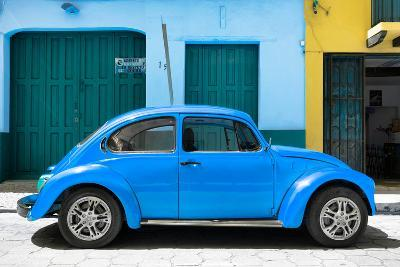 ?Viva Mexico! Collection - The Blue Beetle Car-Philippe Hugonnard-Photographic Print