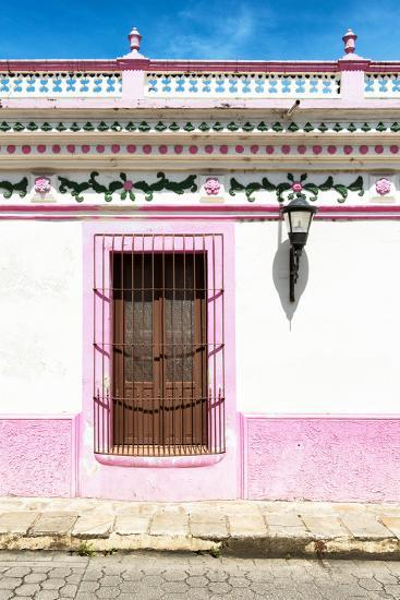 ¡Viva Mexico! Collection - The Pink Window-Philippe Hugonnard-Photographic Print
