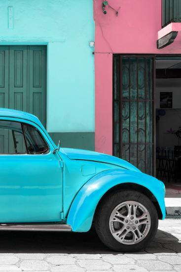 ?Viva Mexico! Collection - The Turquoise Beetle-Philippe Hugonnard-Photographic Print