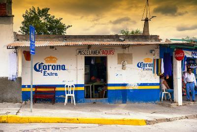 ?Viva Mexico! Collection - Traditional Store at Sunset-Philippe Hugonnard-Photographic Print