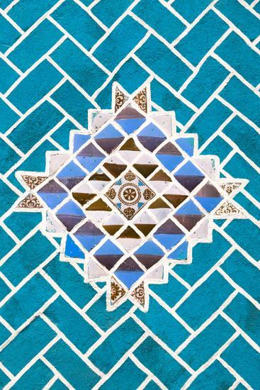 ?Viva Mexico! Collection - Turquoise Mosaics-Philippe Hugonnard-Photographic Print