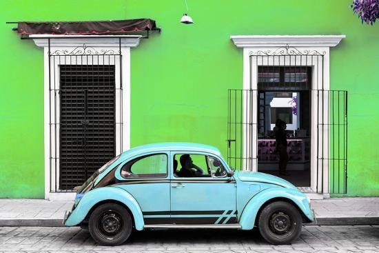 Collection Vw Beetle Lime Green Powder Blue Philippe
