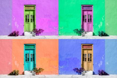 ¡Viva Mexico! Collection - Wall Color II - Campeche-Philippe Hugonnard-Photographic Print