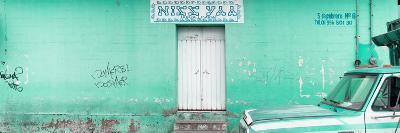 "¡Viva Mexico! Panoramic Collection - ""5 de febrero"" Coral Green Wall-Philippe Hugonnard-Photographic Print"