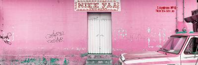"¡Viva Mexico! Panoramic Collection - ""5 de febrero"" Light Pink Wall-Philippe Hugonnard-Photographic Print"