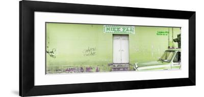 "¡Viva Mexico! Panoramic Collection - ""5 de febrero"" Lime Green Wall-Philippe Hugonnard-Framed Photographic Print"