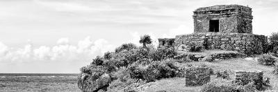 ¡Viva Mexico! Panoramic Collection - Ancient Mayan Fortress in Riviera Maya - Tulum II-Philippe Hugonnard-Photographic Print