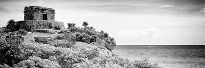 ¡Viva Mexico! Panoramic Collection - Ancient Mayan Fortress in Riviera Maya - Tulum V-Philippe Hugonnard-Photographic Print
