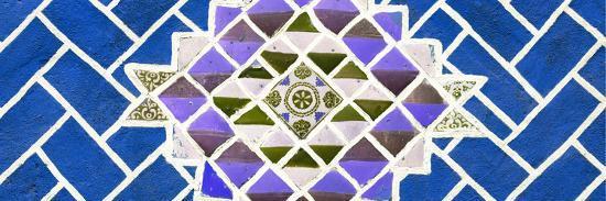 ¡Viva Mexico! Panoramic Collection - Blue Mosaics-Philippe Hugonnard-Photographic Print
