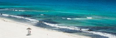 ¡Viva Mexico! Panoramic Collection - Blue Ocean and White Beach - Cancun-Philippe Hugonnard-Photographic Print