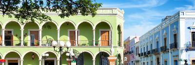 ¡Viva Mexico! Panoramic Collection - Campeche Architecture VI-Philippe Hugonnard-Photographic Print
