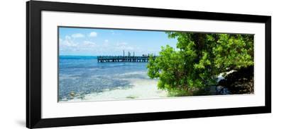 ¡Viva Mexico! Panoramic Collection - Caribbean Coastline III-Philippe Hugonnard-Framed Photographic Print