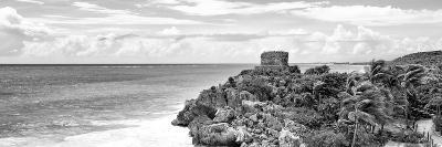 ¡Viva Mexico! Panoramic Collection - Caribbean Coastline in Tulum X-Philippe Hugonnard-Photographic Print
