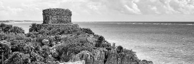 ¡Viva Mexico! Panoramic Collection - Caribbean Coastline - Tulum XI-Philippe Hugonnard-Photographic Print