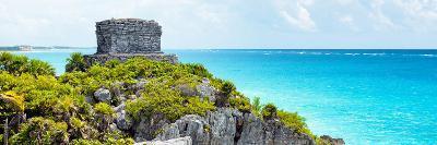 ¡Viva Mexico! Panoramic Collection - Caribbean Coastline - Tulum XII-Philippe Hugonnard-Photographic Print