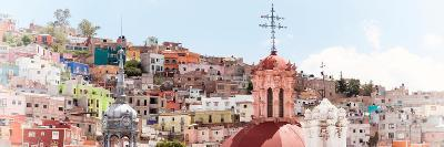 ¡Viva Mexico! Panoramic Collection - City of Colors Guanajuato II-Philippe Hugonnard-Photographic Print