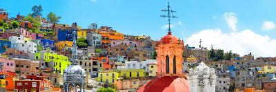 ¡Viva Mexico! Panoramic Collection - City of Colors Guanajuato-Philippe Hugonnard-Photographic Print