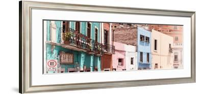 ¡Viva Mexico! Panoramic Collection - Colorful City Guanajuato I-Philippe Hugonnard-Framed Photographic Print