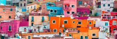 ¡Viva Mexico! Panoramic Collection - Colorful Cityscape Guanajuato XIII-Philippe Hugonnard-Photographic Print