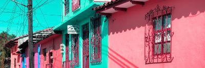 ¡Viva Mexico! Panoramic Collection - Colorful Houses in San Cristobal III-Philippe Hugonnard-Photographic Print