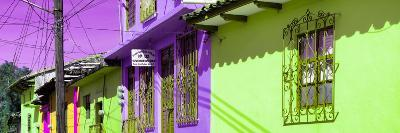 ¡Viva Mexico! Panoramic Collection - Colorful Houses in San Cristobal IV-Philippe Hugonnard-Photographic Print