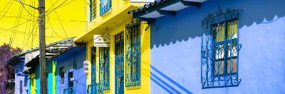 ¡Viva Mexico! Panoramic Collection - Colorful Houses in San Cristobal V-Philippe Hugonnard-Photographic Print
