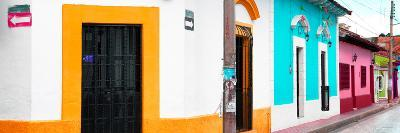 ¡Viva Mexico! Panoramic Collection - Colorful Street III-Philippe Hugonnard-Photographic Print