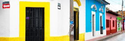 ¡Viva Mexico! Panoramic Collection - Colorful Street-Philippe Hugonnard-Photographic Print