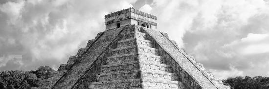 ¡Viva Mexico! Panoramic Collection - El Castillo Pyramid - Chichen Itza II-Philippe Hugonnard-Photographic Print