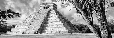 ¡Viva Mexico! Panoramic Collection - El Castillo Pyramid - Chichen Itza IX-Philippe Hugonnard-Photographic Print
