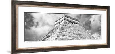¡Viva Mexico! Panoramic Collection - El Castillo Pyramid - Chichen Itza XVI-Philippe Hugonnard-Framed Photographic Print