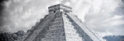 ¡Viva Mexico! Panoramic Collection - El Castillo Pyramid in Chichen Itza XIV-Philippe Hugonnard-Photographic Print