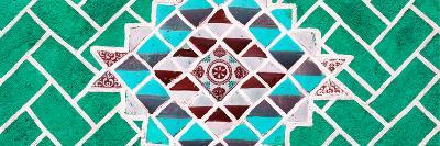 ¡Viva Mexico! Panoramic Collection - Green Mosaics-Philippe Hugonnard-Photographic Print