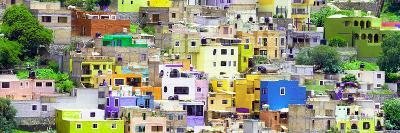 ¡Viva Mexico! Panoramic Collection - Guanajuato Colorful City XV-Philippe Hugonnard-Photographic Print